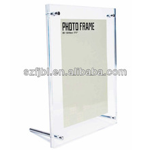 new-style clear acrylic photo frame with magnets