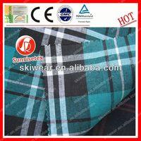 Functional fireproof cotton swiss dot fabric