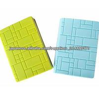 decorative&eco-friendly Silicone Book Case/cover