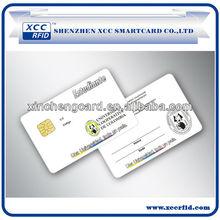 Memory Card/Contact Card/SLE4442 Blank Card