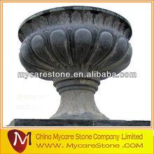 Stone decorative artificial flower pot