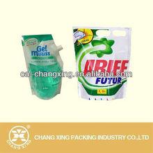 customize washing powder packaging bag(custom logo & design printing)