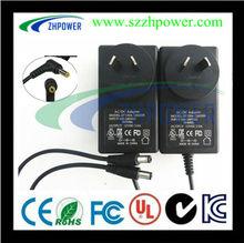 ac adapter 2000ma AU input pass SAA.UL,Dc Jack 5.5*2.1mm