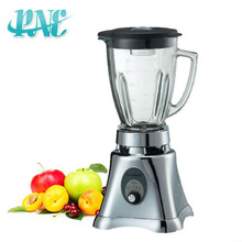 2013 best new hot sell kitchen stainless steel body blender download/1.25L square/round glass jar Ice crasher table blender2in1