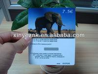 telecom recharge card