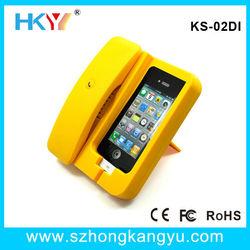 For all smart phone docking station retro phone handset