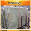Polished light green marble onyx