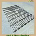 De haute qualité double clôture en treillis soudé fil sécurisé( échantillon gratuit)