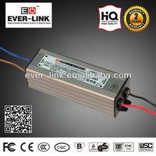 Waterproof LED Power Supply CE EMC ROHS SAA 40 80VDC 28W 30w waterproof electronic led driver