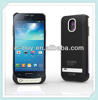 Best price 2600mAh external backup power bank case for samsung galaxy s4 mini i9190