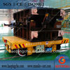 kpx-150tons electric freight flat car with battery power