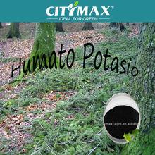 Potassium humate from leonardite