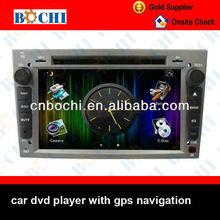 High performance car dvd navigation for opel zafira