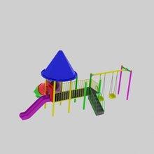 TAV-SAN playground (Swing, slides and child fitness equipment)