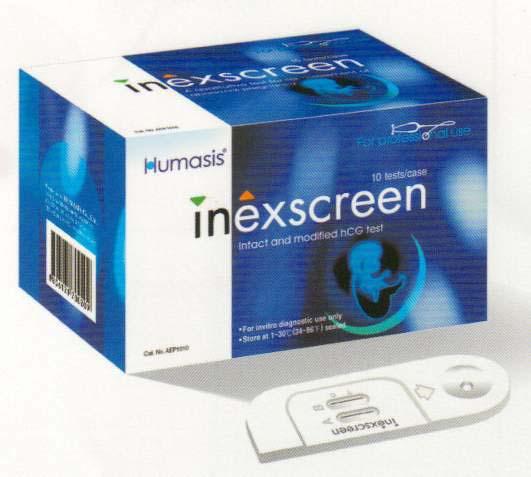 Тест на внематочную беременность inexscreen