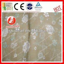 Functional fireproof 100% polypropylene fabric 100% cotton felt
