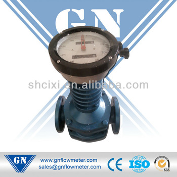 oval gear flow meter for high temperature liquid