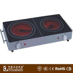 Countertop Electric Stove : Electric Countertop Stove/2 Burner Electric Cooktop - Buy Electric ...