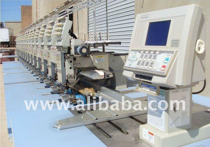 maquinas bordadoras industriales reacondicionadas