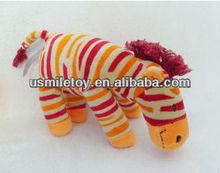 funny zebra stuffed plush animal decoration animal
