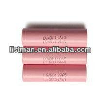 18650 battery lithium ion battery 3.7v 3000mAh lg battery