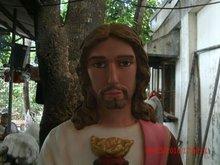 custom made religious life size statue fiberglass material