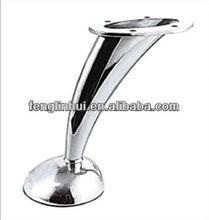 High stand metal furniture leg/iron sofa leg/metal furniture foot