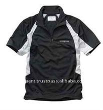 EISHA PSEE13 Plain Black Short Sleeve Polyester Cheap T Shirts