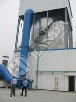 Spray dry machine of spirulina