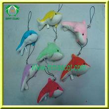 HI EN71 Little Plush Key Chain Dolphin