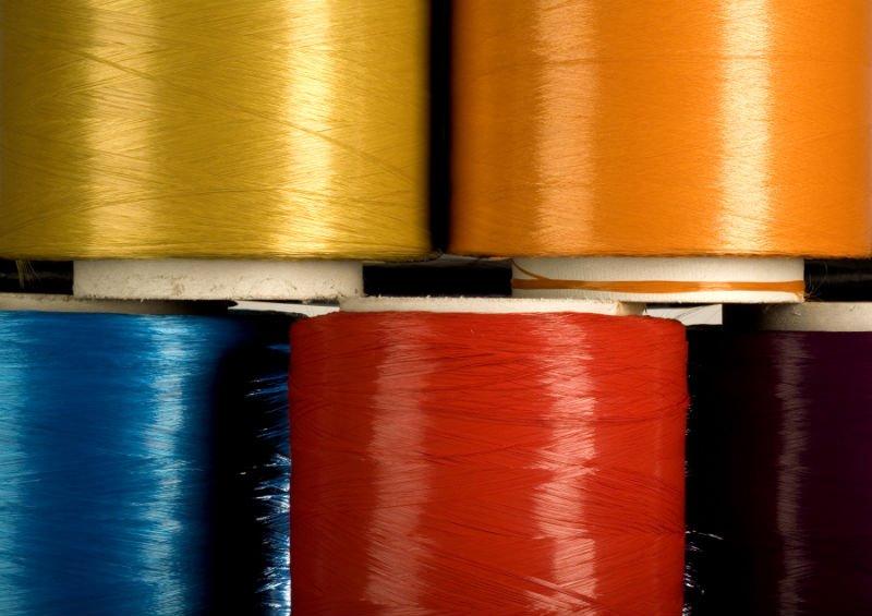 Nylon 6 solution dyed