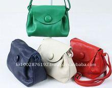 Made in Korea Premium Mini Cross Bags Genuine Leather