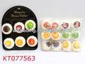 Shantou nueva divertido muestras de plástico de la torta de la torta de cumpleaños