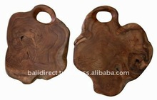 Teak Root Choping Board
