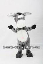 B/O Plush bull with dancing and singing