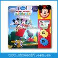 Los niños famoso libro de cuentos/el aprendizaje de los niños/sensor de movimiento de módulo de sonido activado