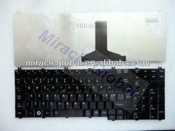 Hot sale laptop keyboard for toshiba P505 notebook keyboard layout NE