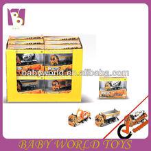 Diecast construction car for child/diecast construction truck