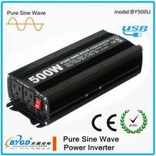 dc to ac power transformer 500W 12v/24v power inverter
