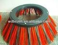 Barredora industrial disco mezcla cepillo de filamentos wdg340-490-m