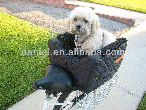 Stylish Go Out Nylon Bike Basket Pet Carrier Bag Designer