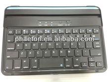 magnetic bluetooth keyboard for ipad mini, aluminium keyboard cover, aluminium case, germany italian Russian language
