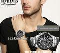 2013 homens de luxo swiss moda relógio