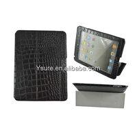 Genuine leather travel case for Apple ipad ipad2 ipad3 ipad4 Crocodile Accessories