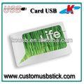 Usb portátil de tarjetas de crédito