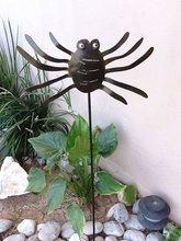 Spider metal art for Halloween