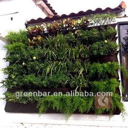 Hot!! 2013 US OEM wall greening project wall garden planter raising bed