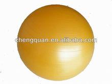 55cm yellow girls yoga ball/ fitness yoga ball