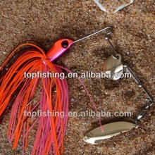 Q14-R01-10 spinner bait 10g double blade fishing metal jig