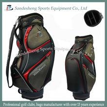 Independent design Genuine Leather Golf Club Bag